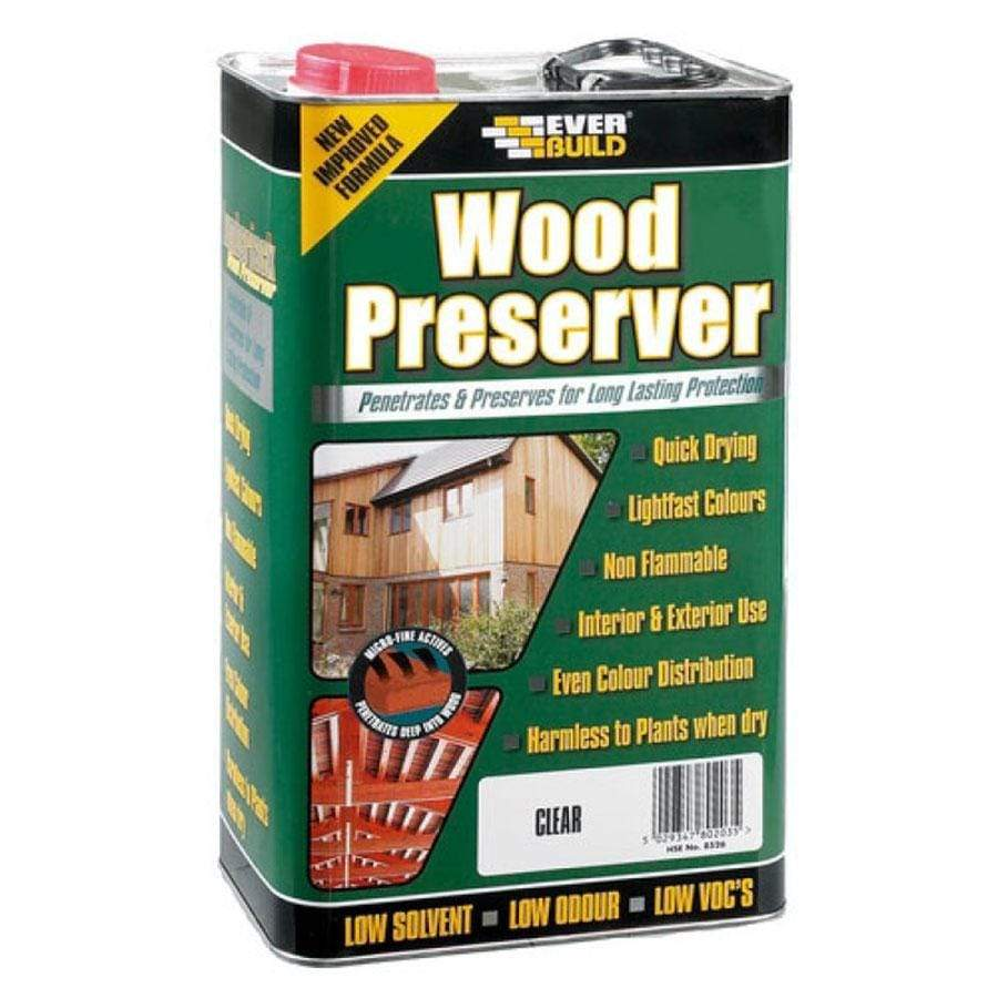 Everbuild Clear Wood Preserver