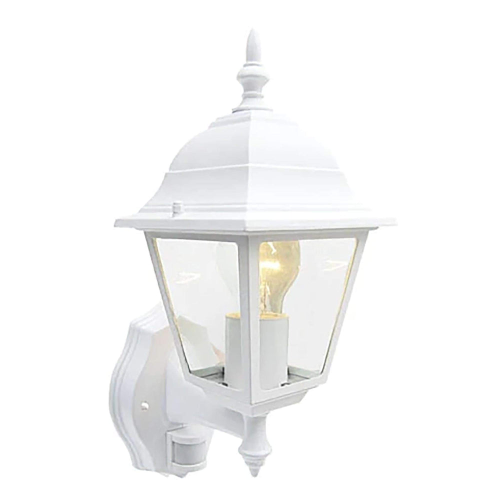 Eveready White 4 Sided Lantern With PIR