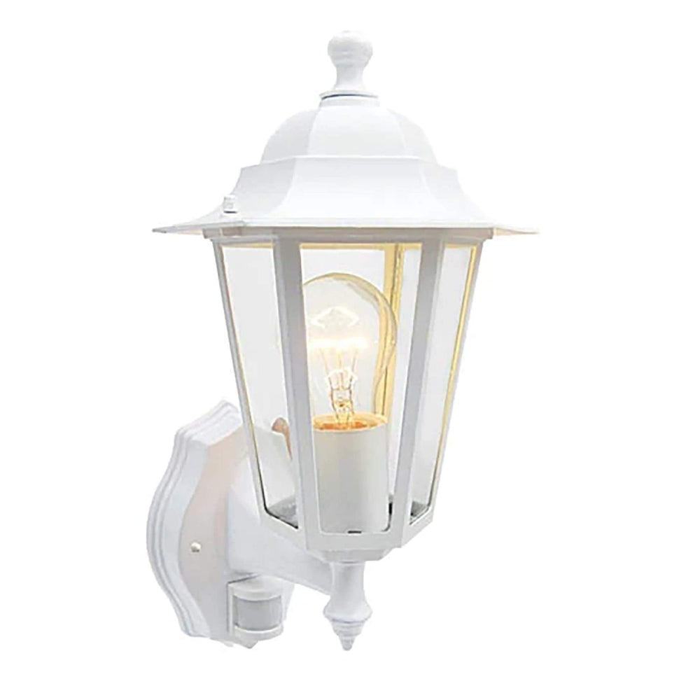 Eveready White 6 Sided Lantern With PIR
