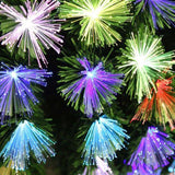 Fibre Optic LED Burst 2.5ft Christmas Tree