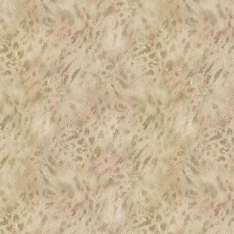 Fine Decor Gold/Beige Jaguar Faux Fur Sample - 88754