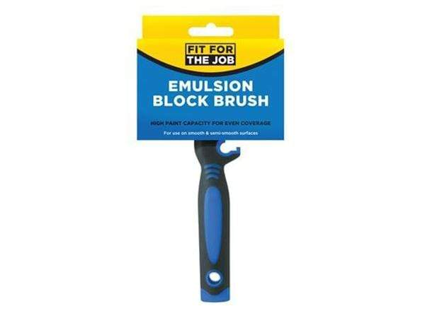 Fit For The Job Emulsion Block Brush