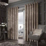 Forbury Mink Eyelet Curtains