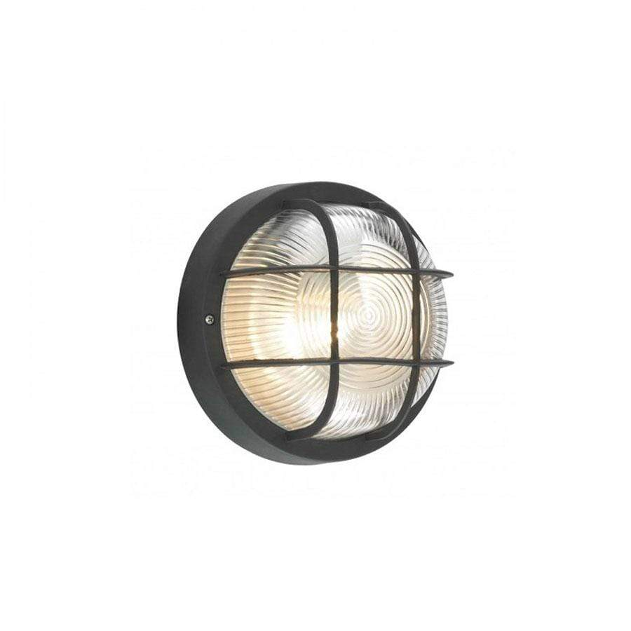 Forum Lighting Coast Mars Round Bulkhead Black