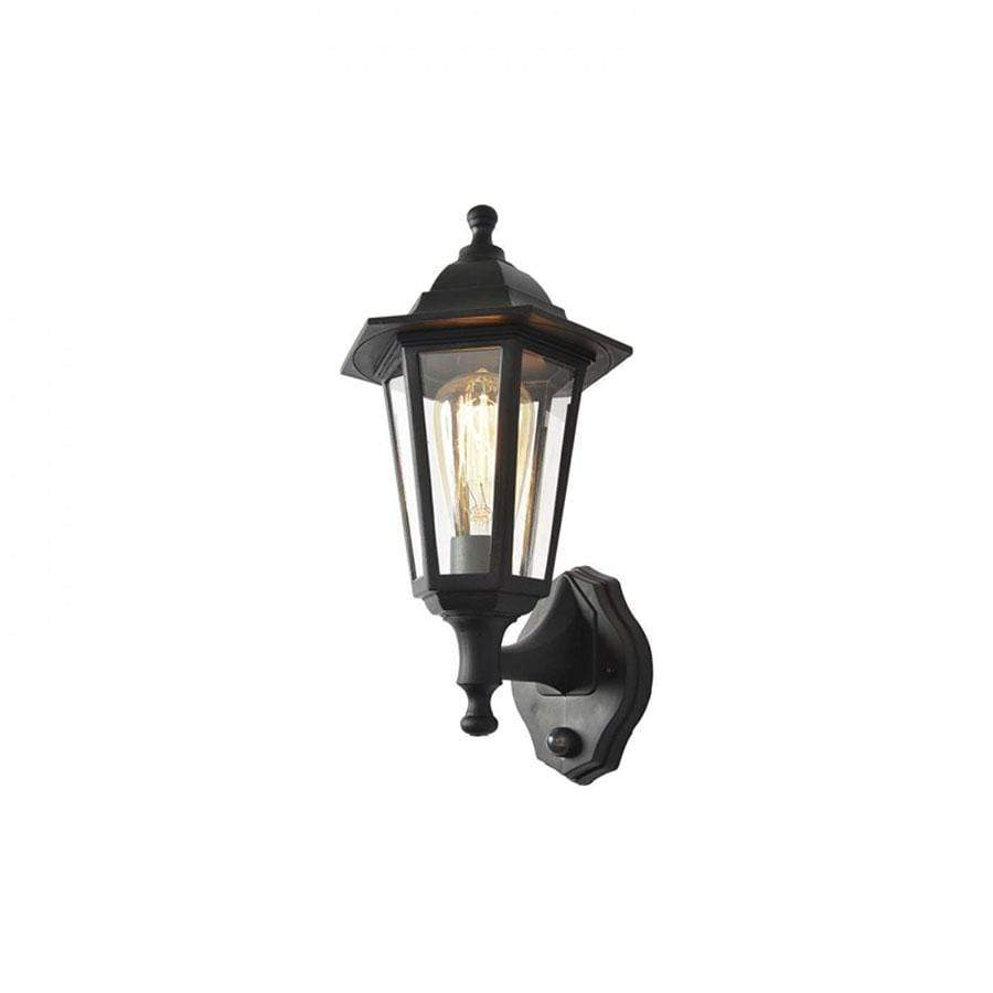 Forum Lighting Polycarbonate Up/Down 6 Panel Lantern with PIR