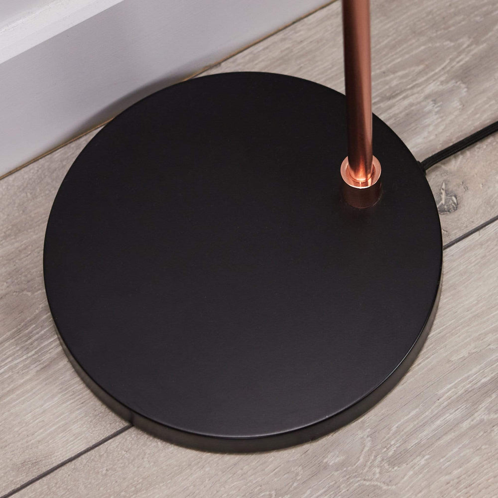 Frederick Floor Lamp Black & Copper