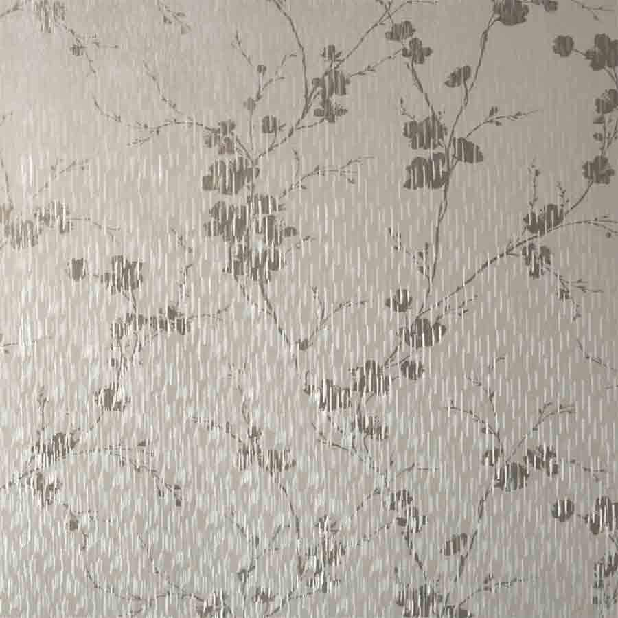 Graham and Brown Sublime Theia Cream Floral Metallic Sample - 106602