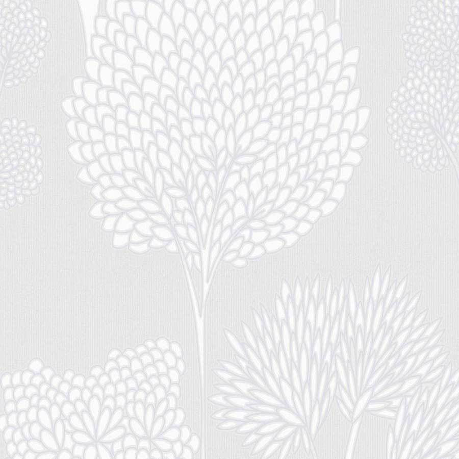 Graham & Brown Whimsical Grey Wallpaper Sample - 105786