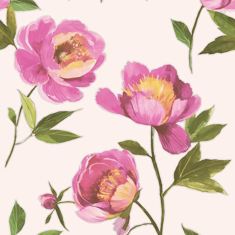 Grandeco Florence Pink Wallpaper - A41201 Grandeco Florence Pink Wallpaper - A41201