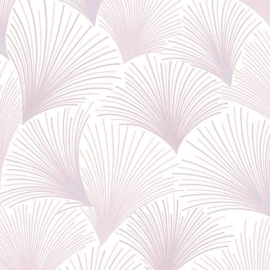 Grandeco Gatsby Mauve Wallpaper Sample - A43901