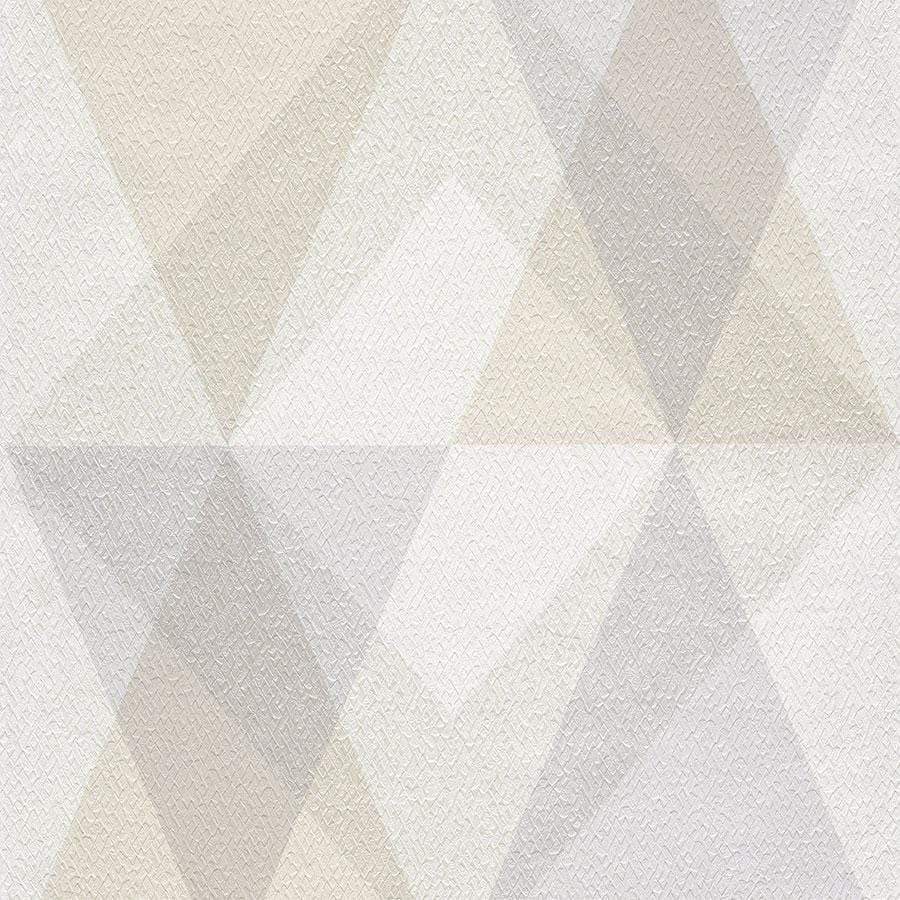 Grandeco Nuances Soren Print Beige Wallpaper Sample - NU3101