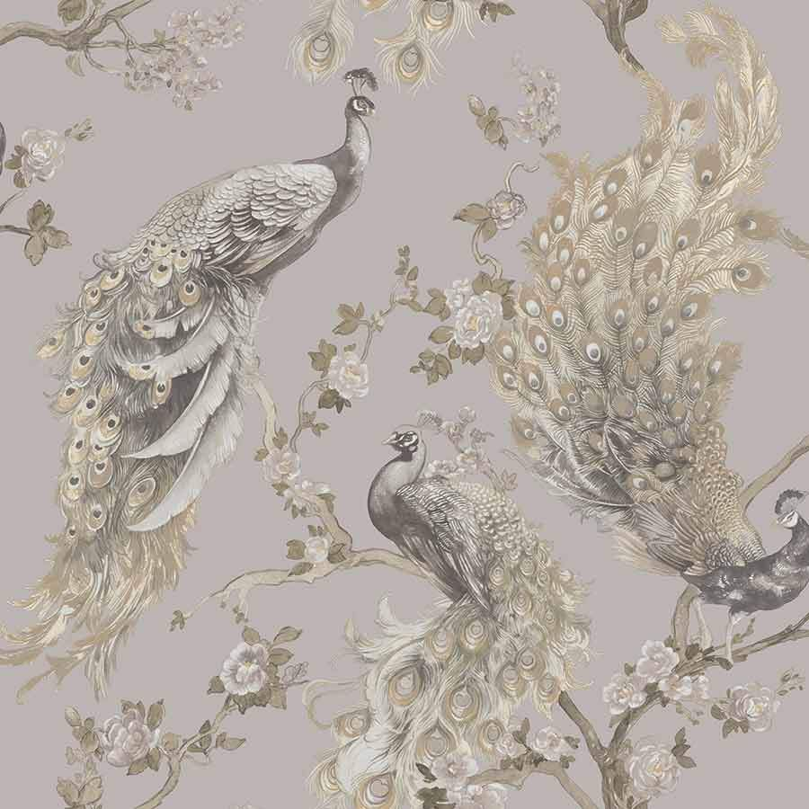 Holden Menali Peacock Grey Wallpaper Sample - 35920