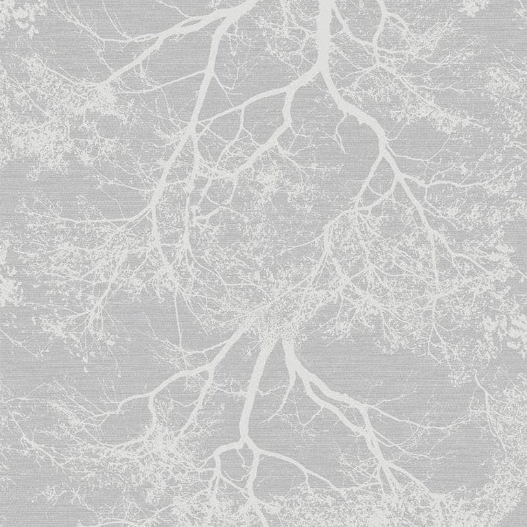 Holden Midas Whispering Trees Grey Wallpaper Sample - 65401