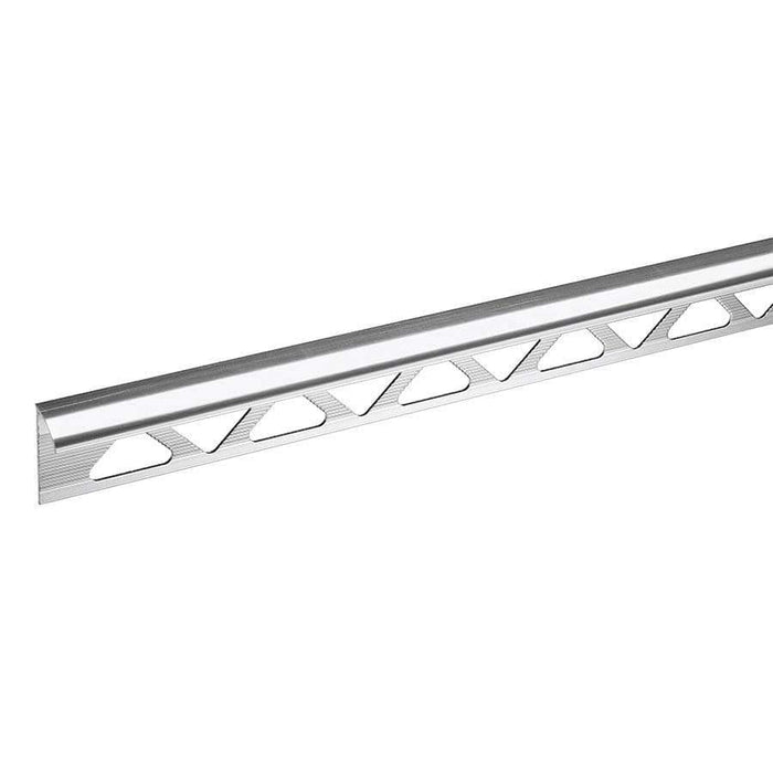 Homelux 12.5mm Trade Silver Tile Trim 2.44 Metre