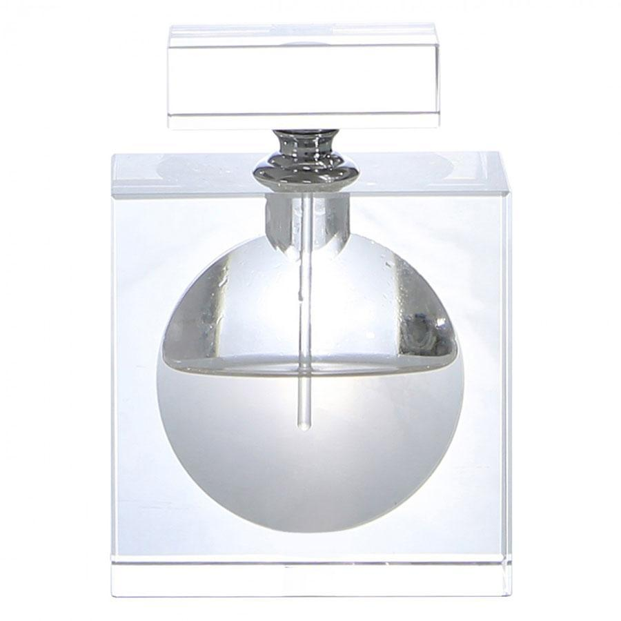 Medium Square Crystal Decorative Perfume Bottle