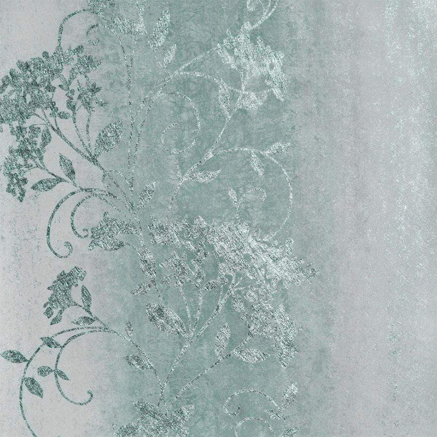 Muriva Sienna Trail Duck Egg Wallpaper Sample - 701584