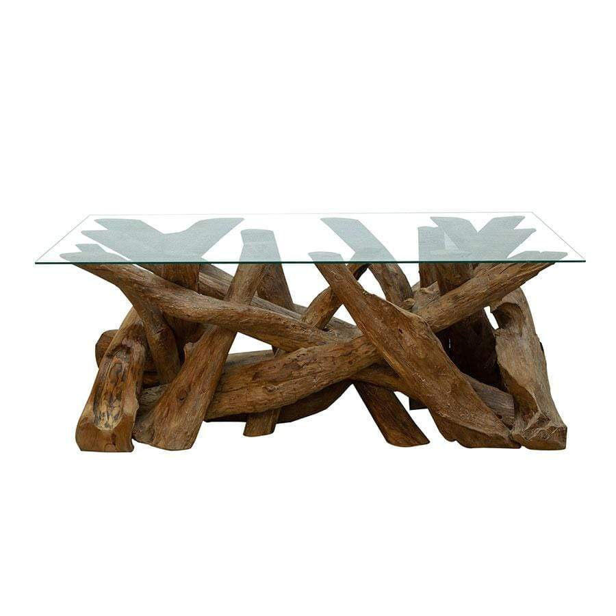 Natural Teak Root Coffee Table – Taskers