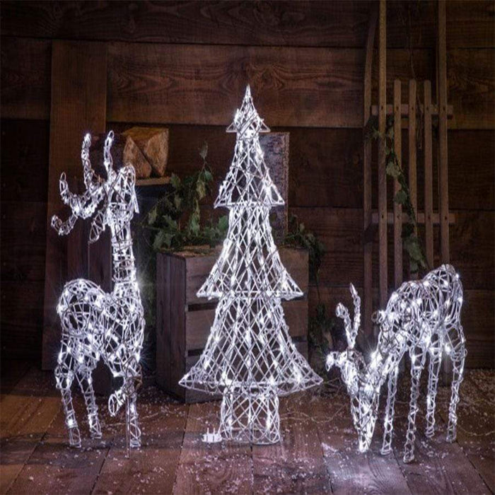 Noma LED Standing Deer Bright White