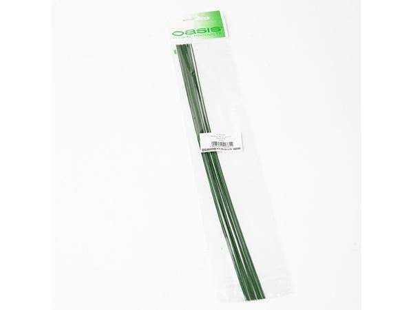Oasis Pre Packed Stub Wire Green 35cm x 0.90mm