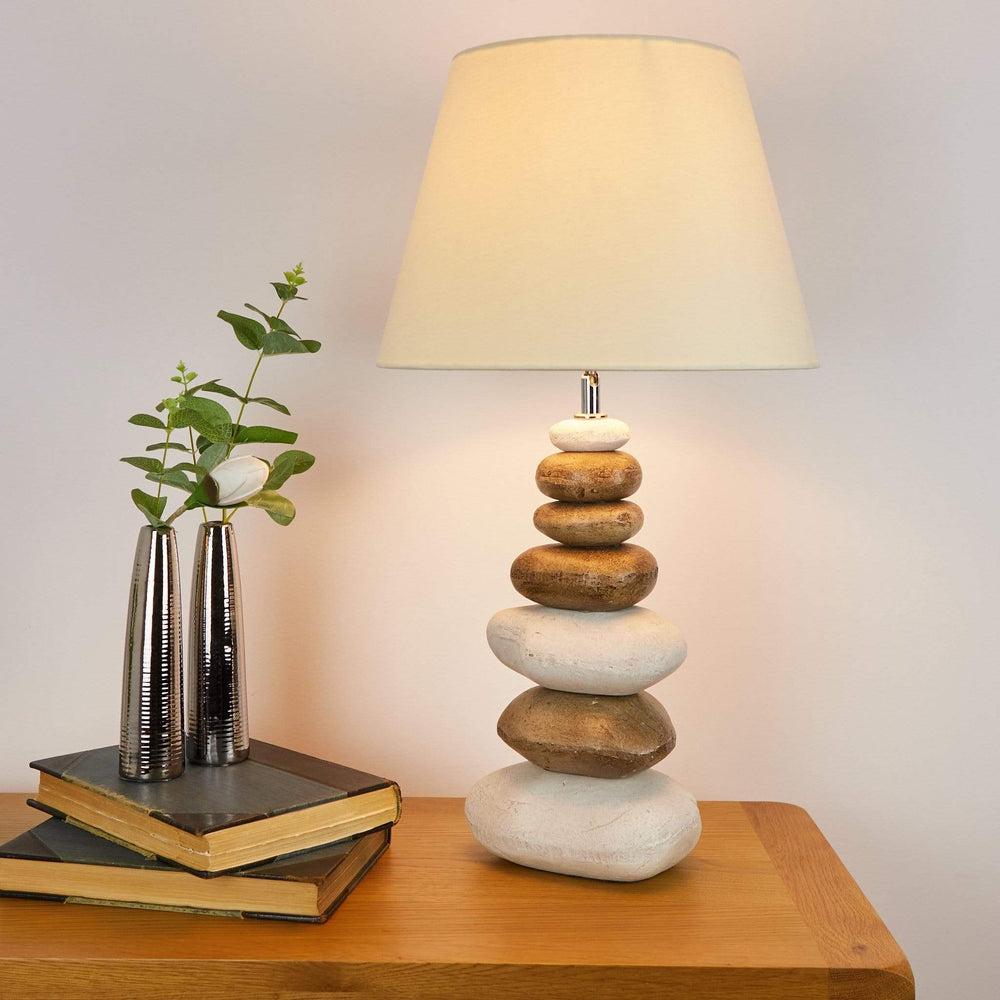 Pacific Ocean Pebble Table Lamp