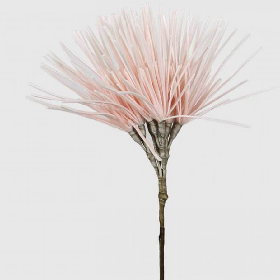 Pink Foam Artificial Spike Flower