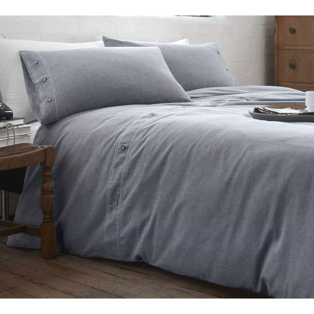 Racing Green Austin Denim Duvet Cover Set
