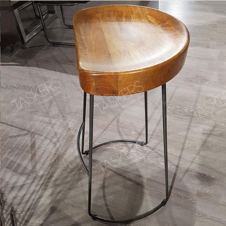 Re-Engineered Tractor Seat Bar Stool