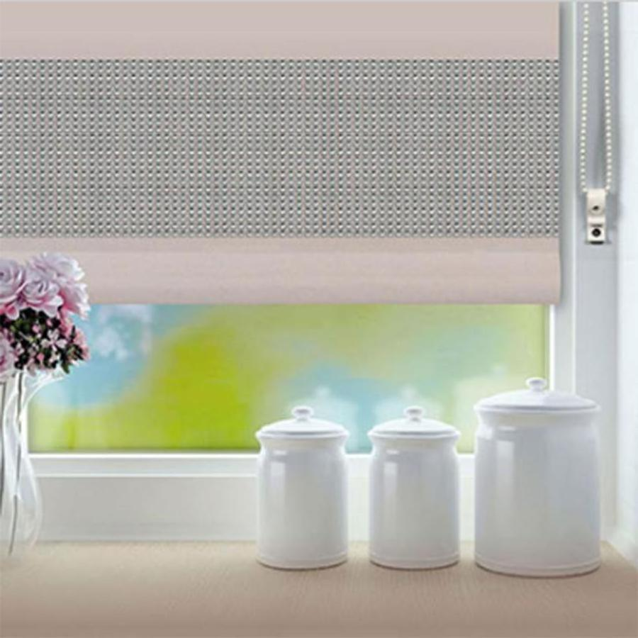 Renaissance Natural Diamante Roller Blind