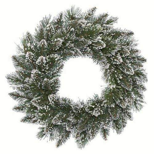 Richmond 50cm Frost Wreath