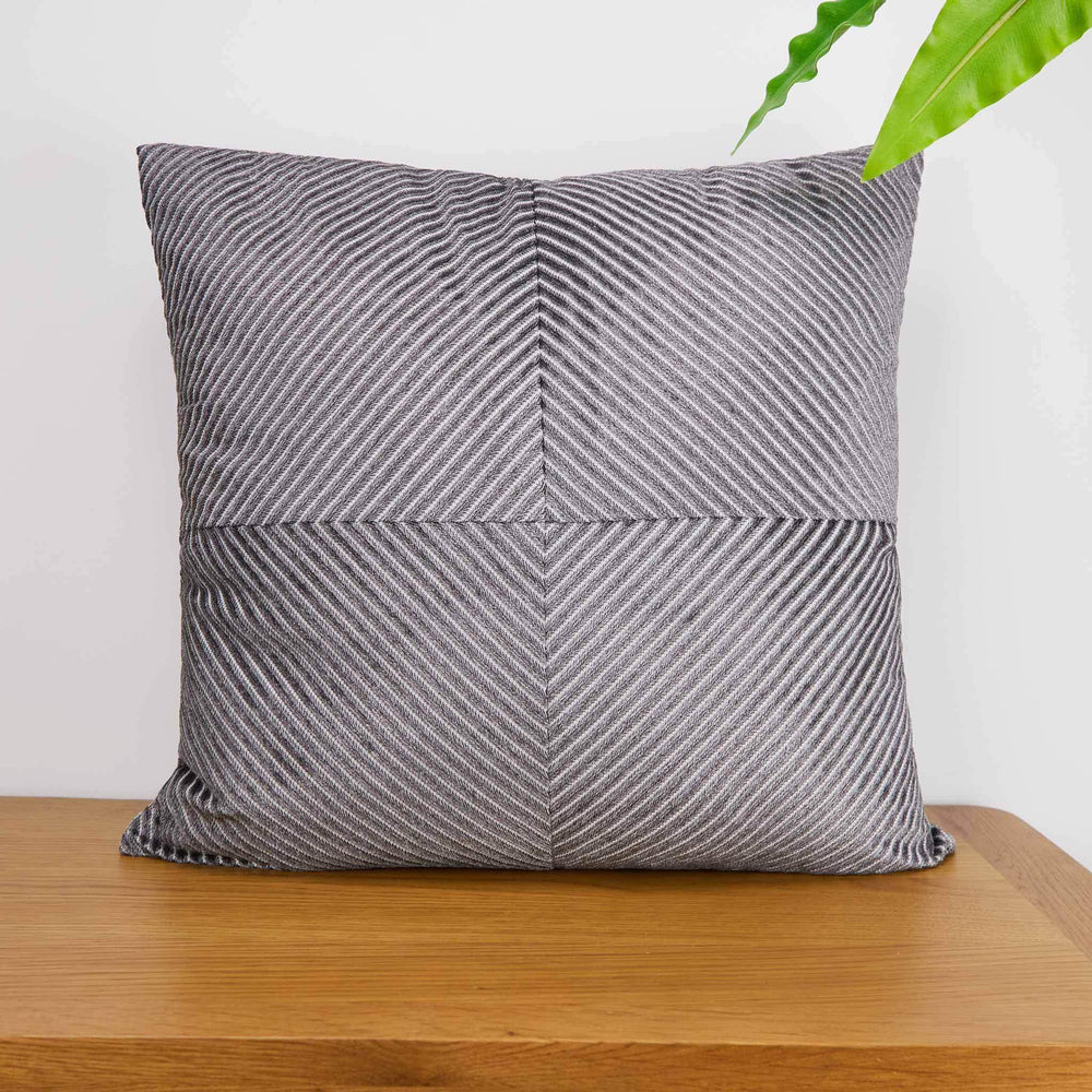 Riva Home Infinity Silver Cushion