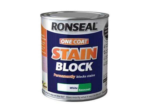 Ronseal One Coat Stain Block 2.5 Litre White