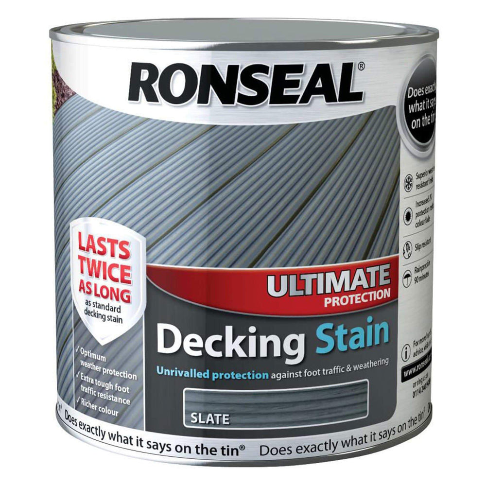 Ronseal Ultimate Protection Decking Slate 2.5L
