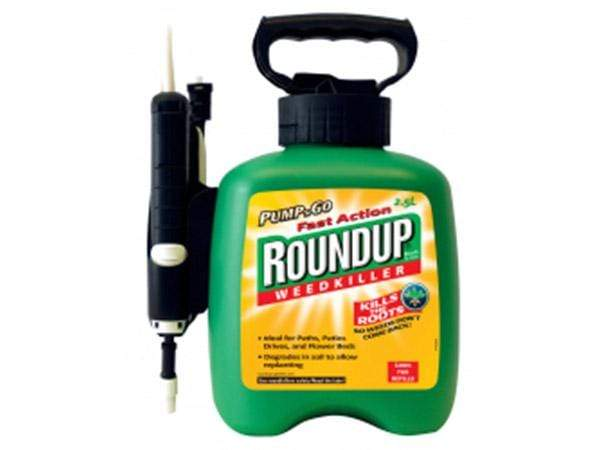 Roundup Mini Fast Action Pump and Go 2.5 Litre Weedkiller