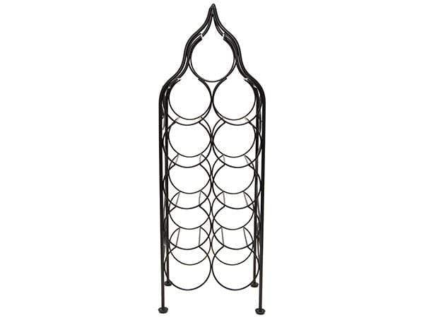 RTA Piedmont Antique Bronze 11 Bottle Wine Rack