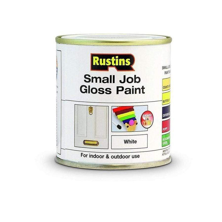 Rustins Quick Dry Small Job White Gloss 250ml