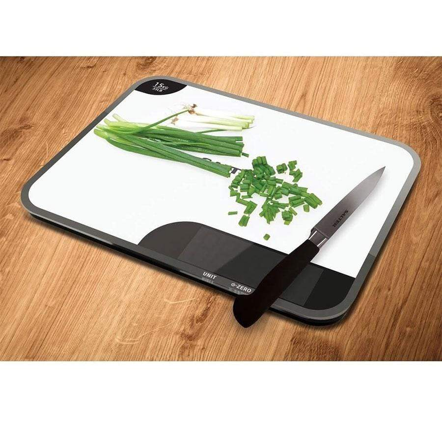 Salter 15kg Max Chopping Board Digital Kitchen Scales