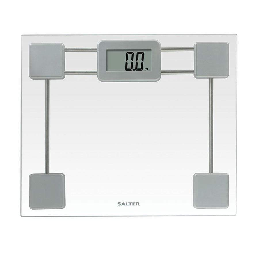 Salter Toughened Glass Digital Bathroom Scales