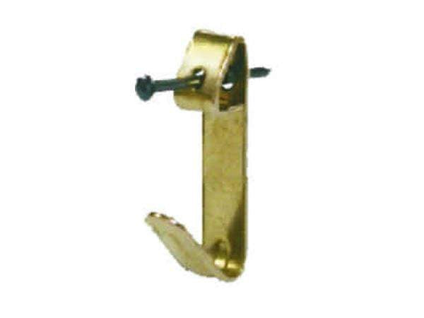 Select No2 Brass Plated Picture Hook