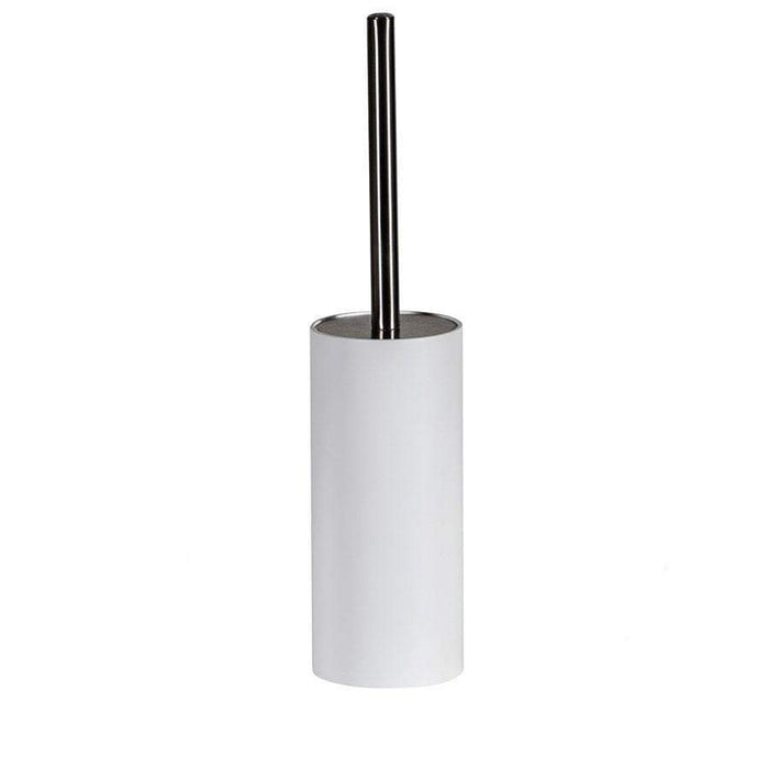 Showerdrape Alto White Toilet Brush And Holder