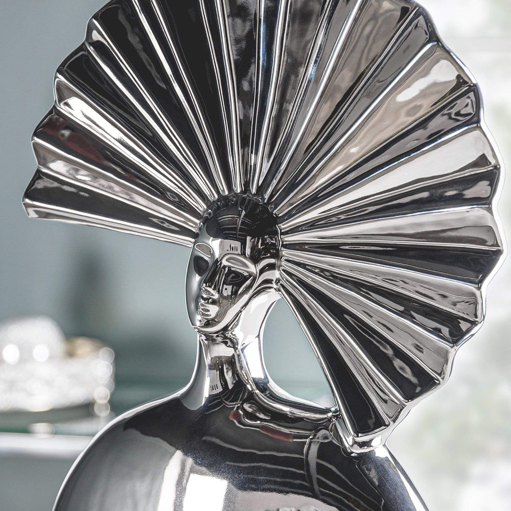 Silver Lady Ornament