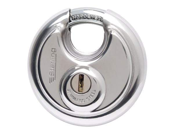 Sterling Stainless Steel Disc Padlock 70mm
