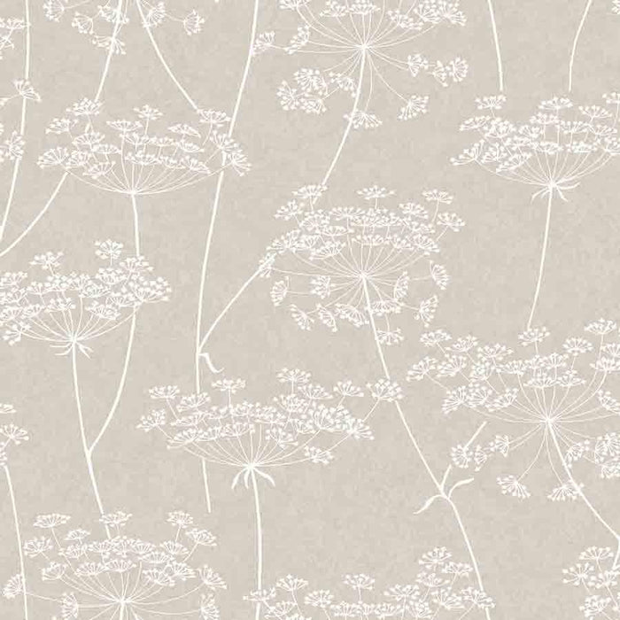 Superfresco Aura Taupe Floral Glitter Wallpaper - 33-301