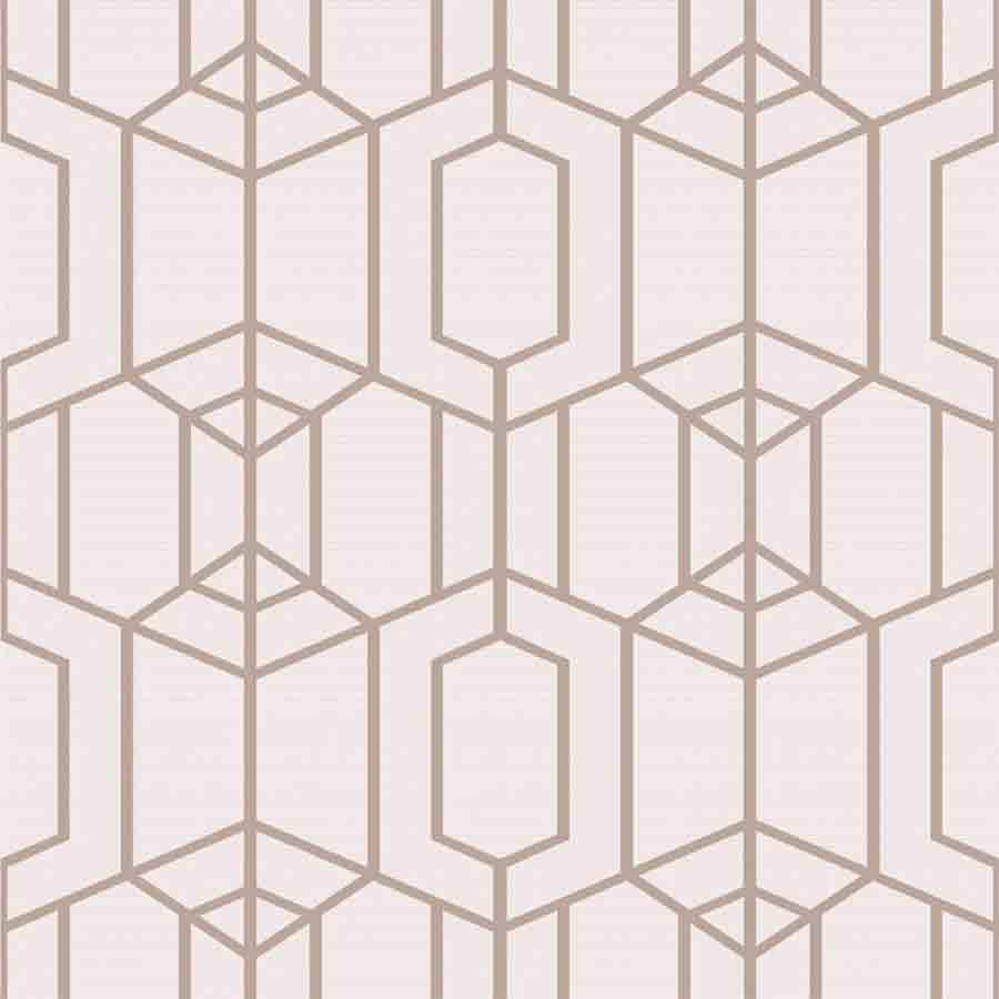 Superfresco Pink Albany Textured Geometric Wallpaper - 106566