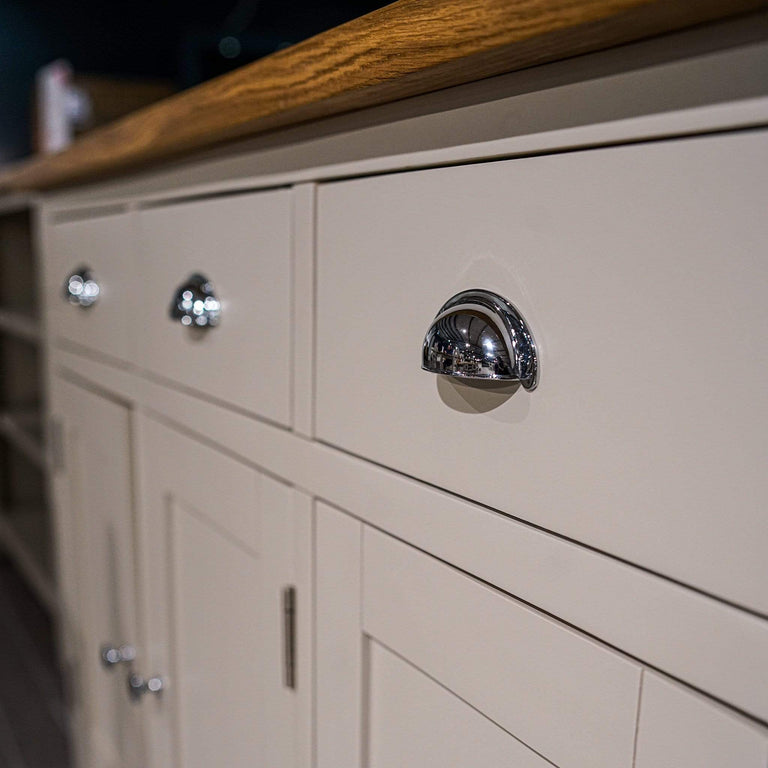 Sussex Stone Grey 3 Door Sideboard