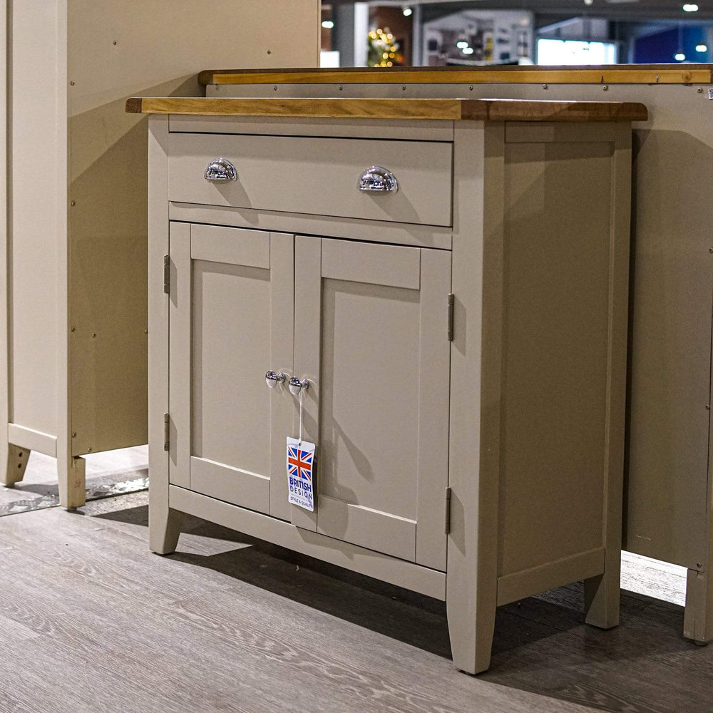 Sussex Stone Grey Small Sideboard