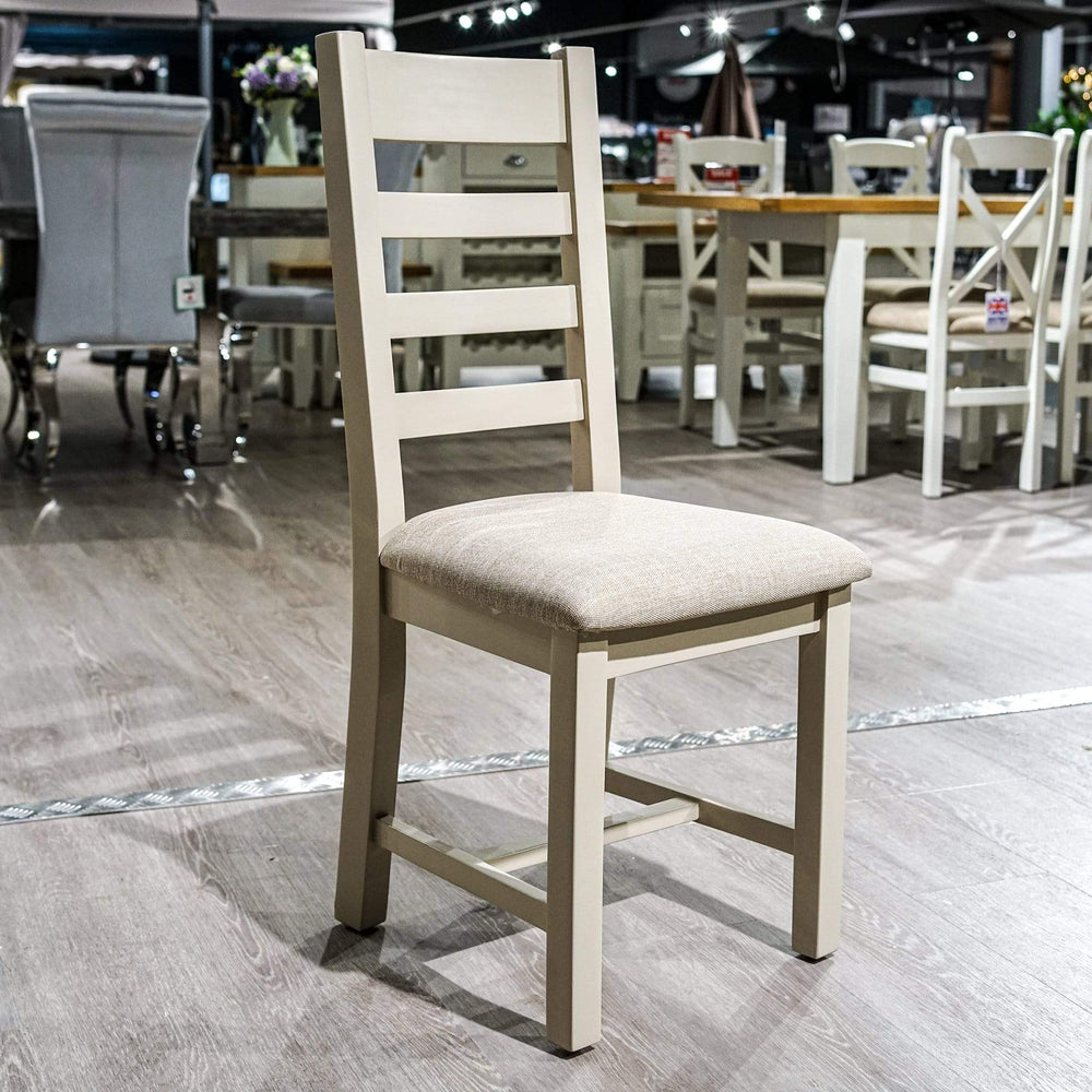 Sussex White Cross Back Chair Sussex White Cross Back Chair