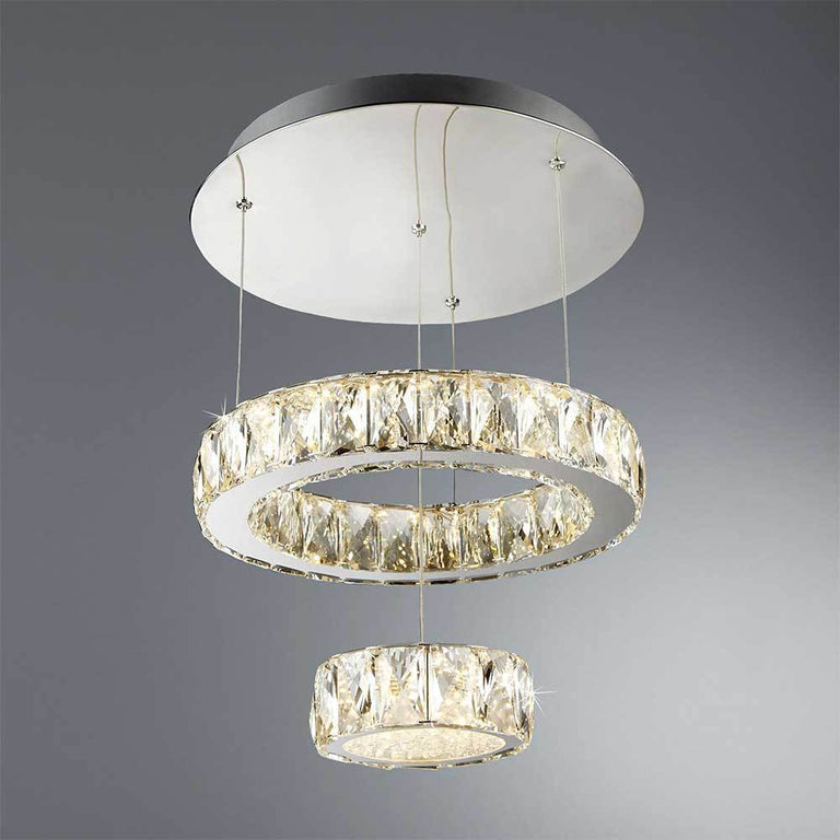 TAS Clover 2 Tier Flush LED Ceiling Light 2328CC