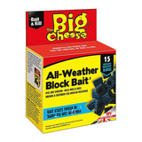 The Big Cheese All Weather Block Bait - 15 Blocks