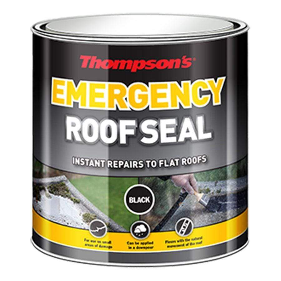 Thompson's Emergency Black Roof Seal 1 Litre