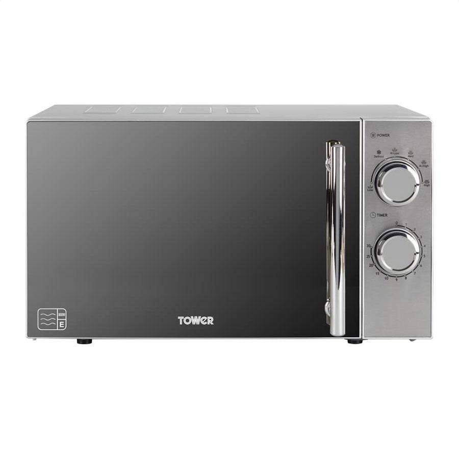Tower Silver Microwave